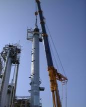 construction management tower lift